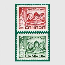 カナダ 1967年クリスマス2種