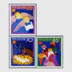 ニュージーランド 1987年クリスマスキャロルなど3種