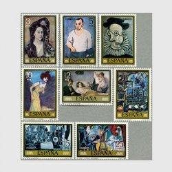 スペイン 1978年ピカソの絵画8種