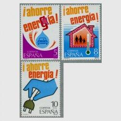スペイン 1979年エネルギー資源の保護3種