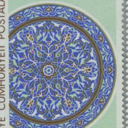 トルコ 1966年16世紀のタイル3種
