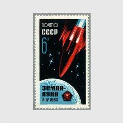 ロシア 1963年月に向うルナ4号