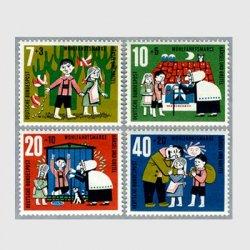 西ドイツ 1961年ヘンゼルとグレーテル4種