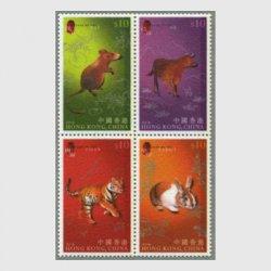 中国香港 2011年年賀フェルト切手