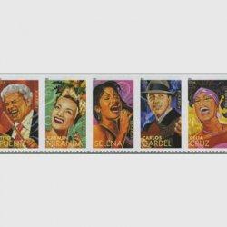 アメリカ 2011年ラテン音楽の巨匠5種連刷