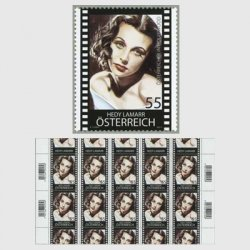 オーストリア 2011年女優「へディ・ラマー」