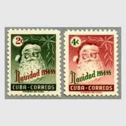 キューバ 1954年クリスマス2種