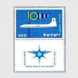 イスラエル 1959年民間航空10年
