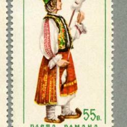 ルーマニア 1968年民族衣装6種