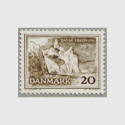 デンマーク 1962年Moen島の絶壁