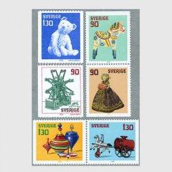 スウェーデン 1978年テディベアなど6種