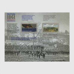 アメリカ 2011年南北戦争ミニチュアシート