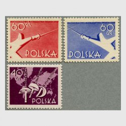 ポーランド 1957年世界フェンシング大会3種