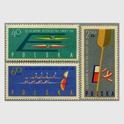 ポーランド 1961年ヨーロッパカヌー大会3種