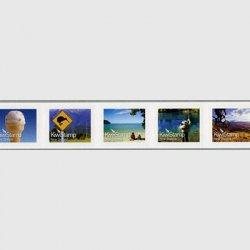ニュージーランド 2011年キーウィ切手5連