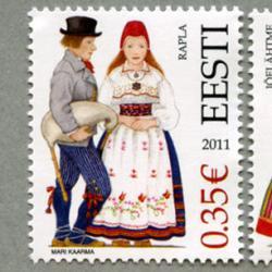 エストニア 2011年民族衣装2種