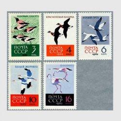 ロシア 1962年ムクドリなど5種