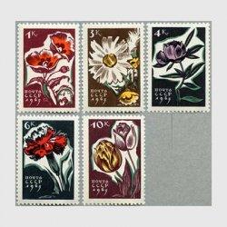 ソ連 1965年ポピーなど5種