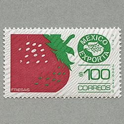 メキシコ 1983年赤いイチゴ