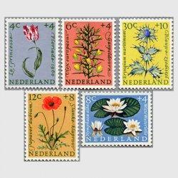 オランダ 1960年チューリップなど5種