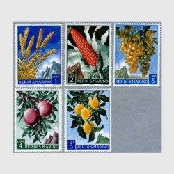 サンマリノ 1958年麦など5種