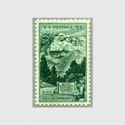 アメリカ 1952年ラシュモア山