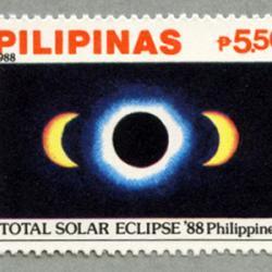 フィリピン 1988年日食2種