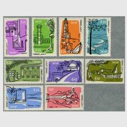 イスラエル 1960年目名所9種
