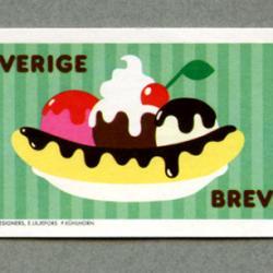 スウェーデン 2011年アイスクリームパフェ