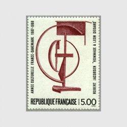 フランス 1988年フランス・デンマーク文化交流