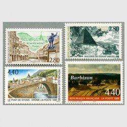 フランス 1995年観光切手4種