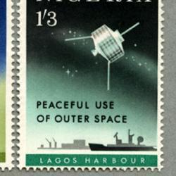 ナイジェリア 1963年宇宙空間の平和利用2種