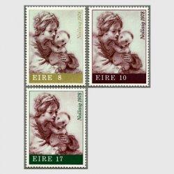 アイルランド 1978年クリスマス3種
