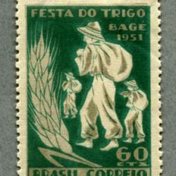 ブラジル 1951年Bage穀物祭