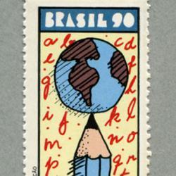 ブラジル 1990年国際識字年