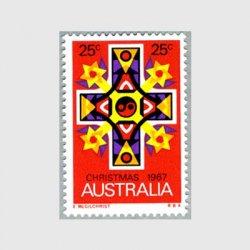 オーストラリア 1967年マンダラ模様の十字架