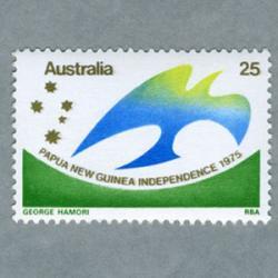 オーストラリア 1975年青い鳥と南十字星