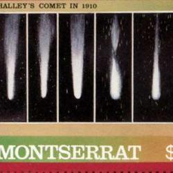 モントセラト 1986年ハレー彗星8種