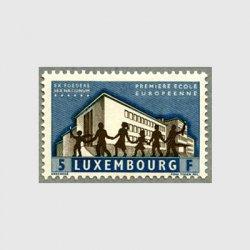 ルクセンブルグ 1960年ヨーロピアンスクール創立