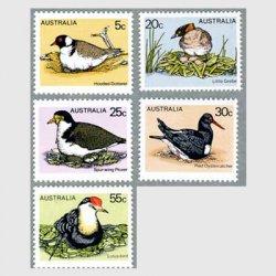 オーストラリア 1978年ハス鳥など5種