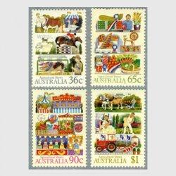 オーストラリア 1987年カーニバルなど4種