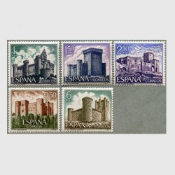 スペイン 1969年城5種
