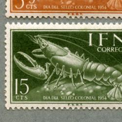 イフニ 1954年ロブスターなど4種