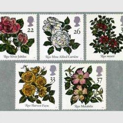 イギリス 1991年バラ5種