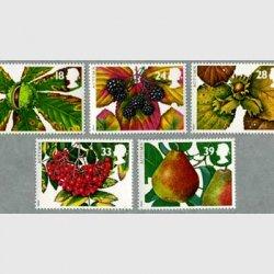 イギリス 1993年秋の果実など5種