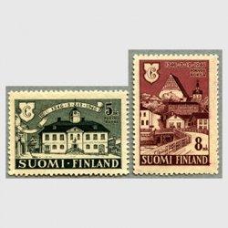 フィンランド 1946年Porvoo創立600年2種
