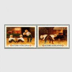 フィンランド 1980年クリスマス2種