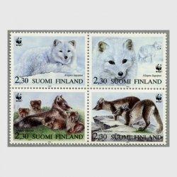 フィンランド 1993年WWF4種