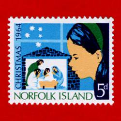 ノーフォーク島 1964年クリスマス