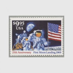 アメリカ 1994年月面着陸額面9.95ドル